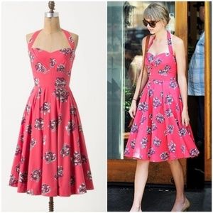 As seen on Taylor Swift Anthropologie Floral Dress